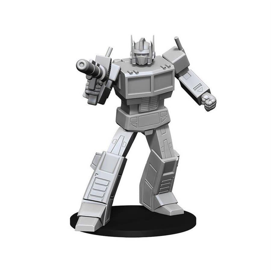 Transformers Unpainted Minis: Optimus Prime