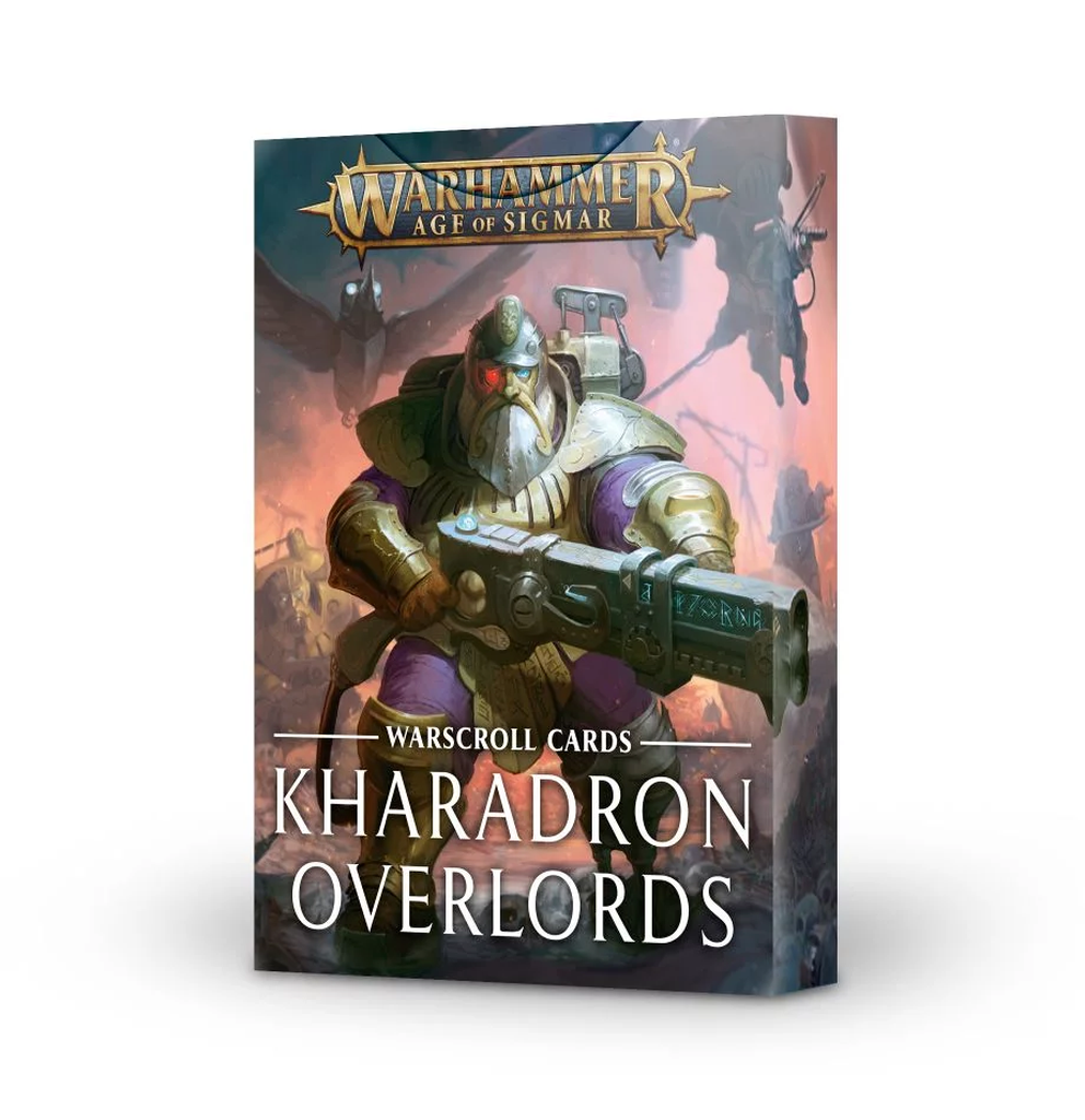 Warscroll Cards: Kharadron Overlords (FR)
