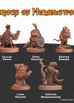 Humblewood Minis: Heroes of Humblewood