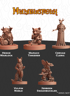 Humblewood Minis: Humblefolk