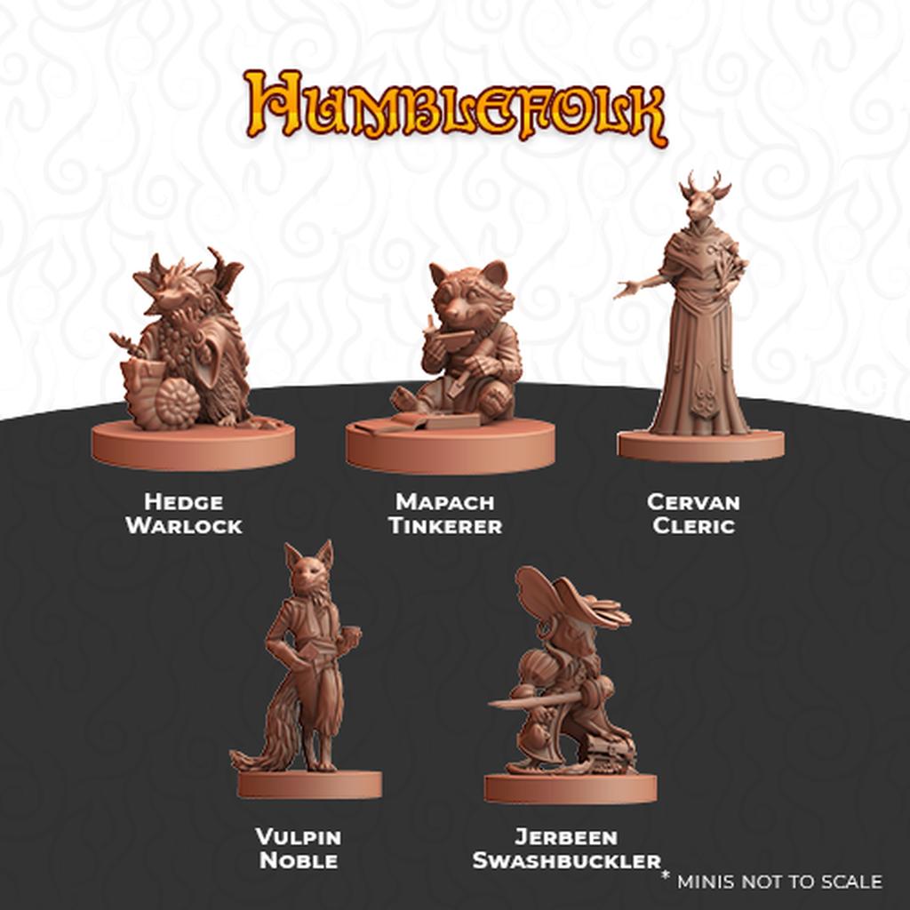 Humblewood Minis: Humblefolk (LRI)