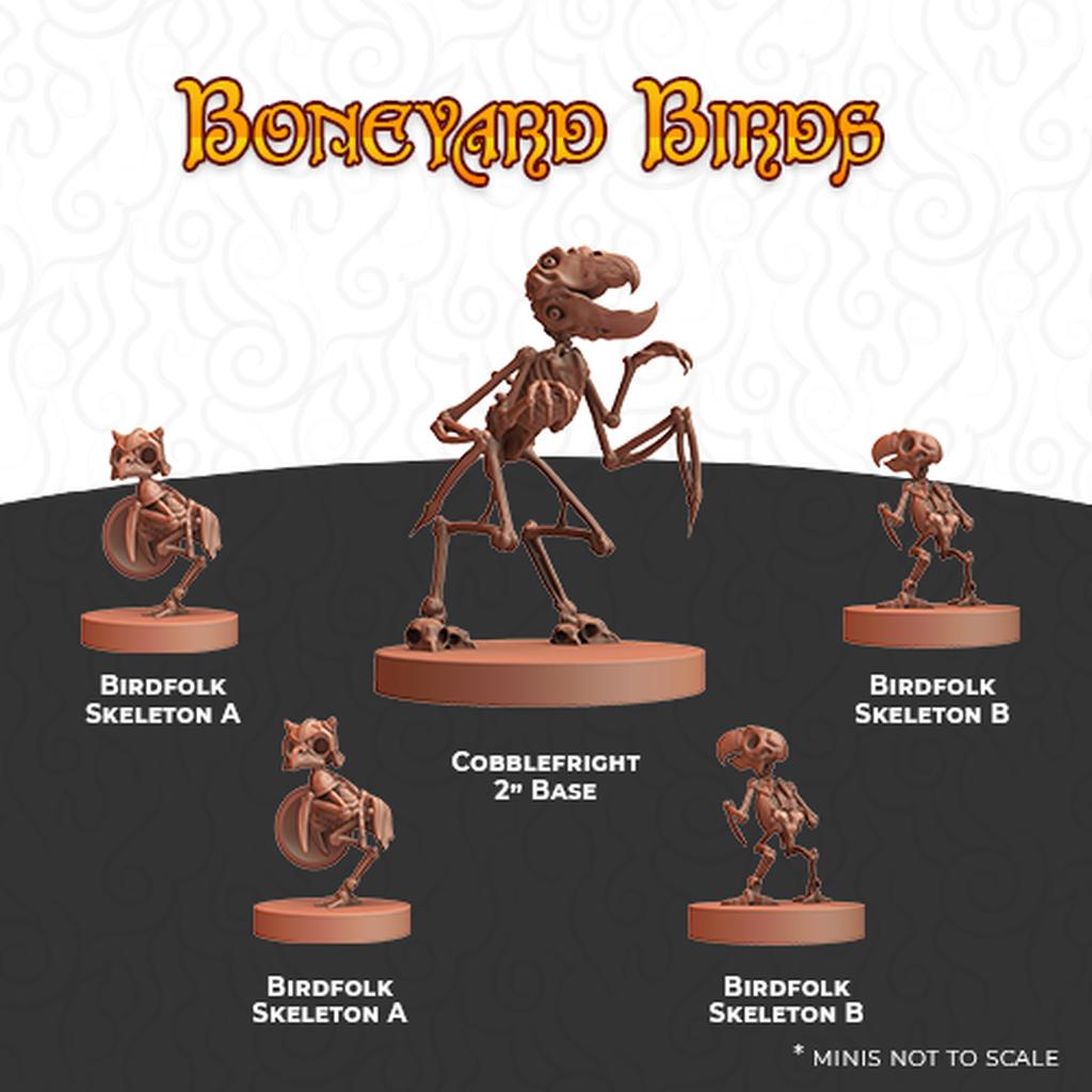 Humblewood Minis: Boneyard Birds