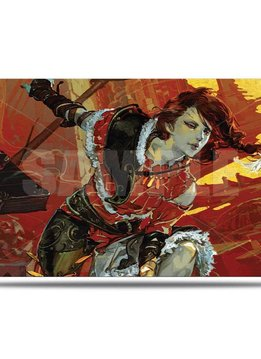 War of the Spark Alt. Art Arlinn Kord Playmat