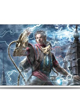 War of the Spark Alt. Art Ral Zarek Playmat