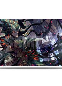 War of the Spark Alt. Art Vraska Playmat