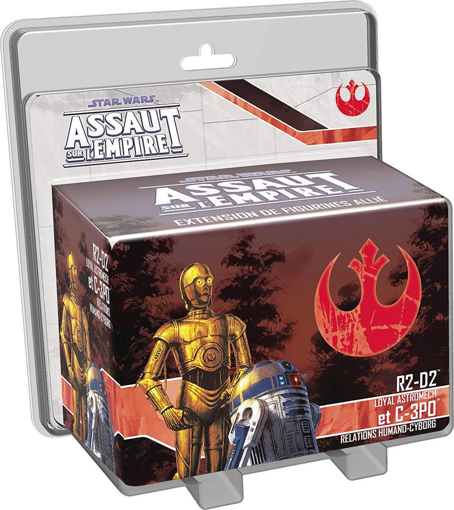SW Assaut sur l'Empire: R2D2 et C3PO