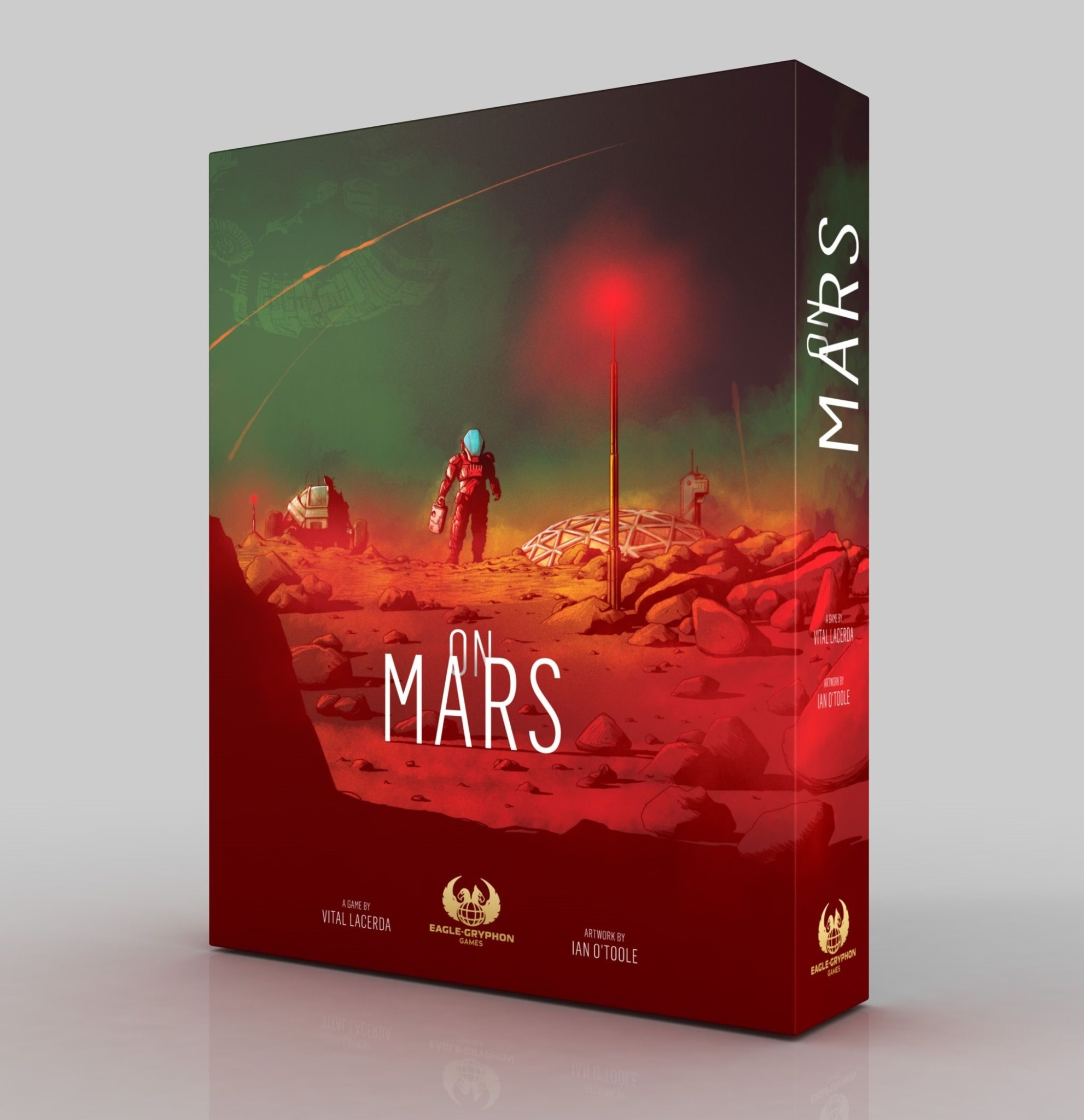 On Mars (Base + KS Upgrade Pack + Promo Card)