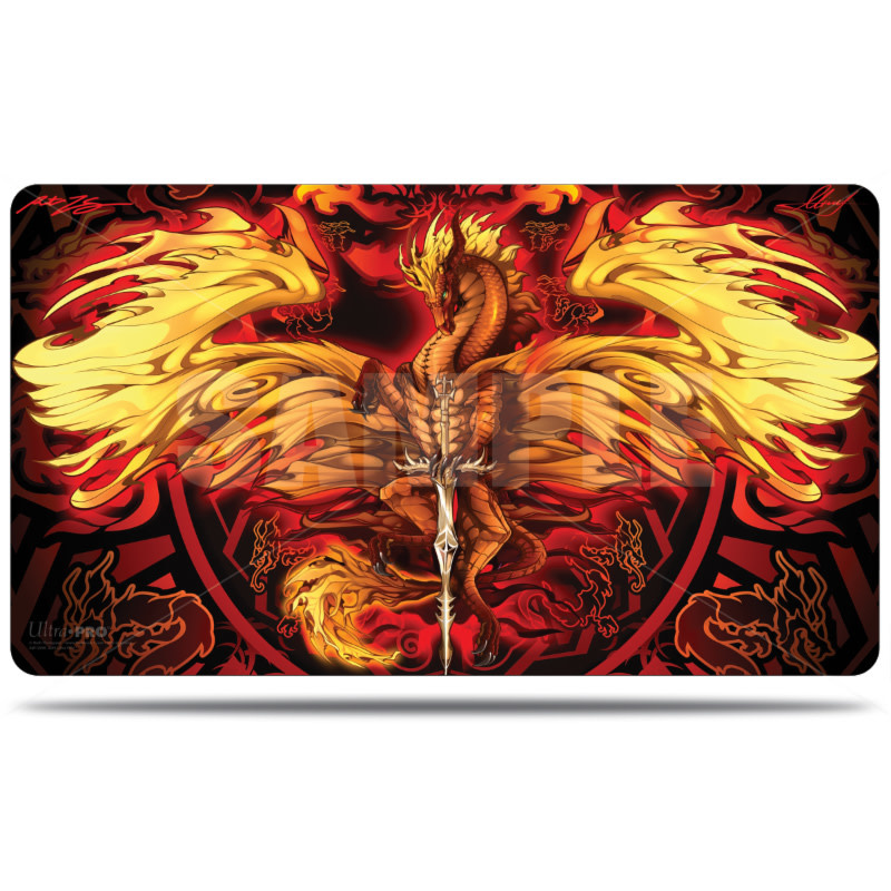 UP Playmat Dragonblade Flameblade