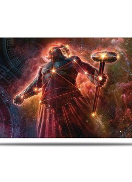Purphoros Alt. Art - MTG Theros Beyond Death UP Playmat
