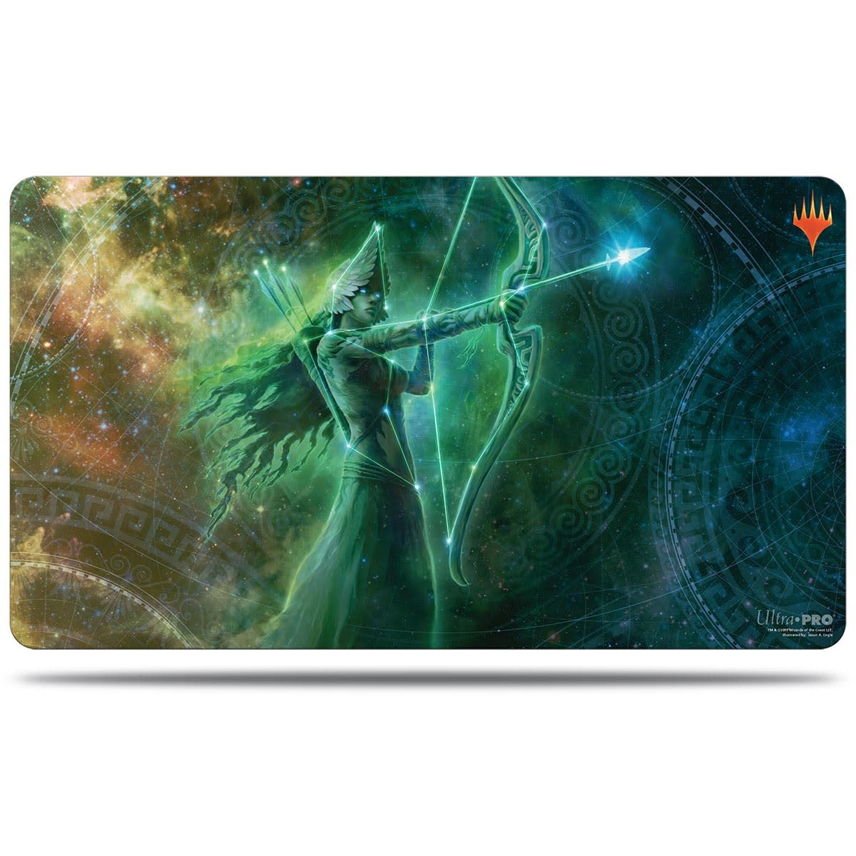 Nylea Alt. Art - MTG Theros Beyond Death UP Playmat