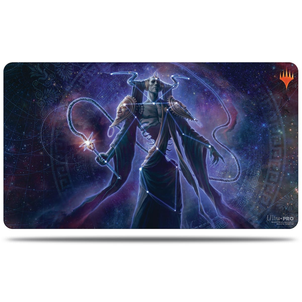 Erebos Alt. Art - MTG Theros Beyond Death UP Playmat