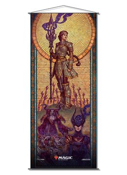 Elspeth Conquers Death - MTG Theros Beyond Death UP Wall Scroll