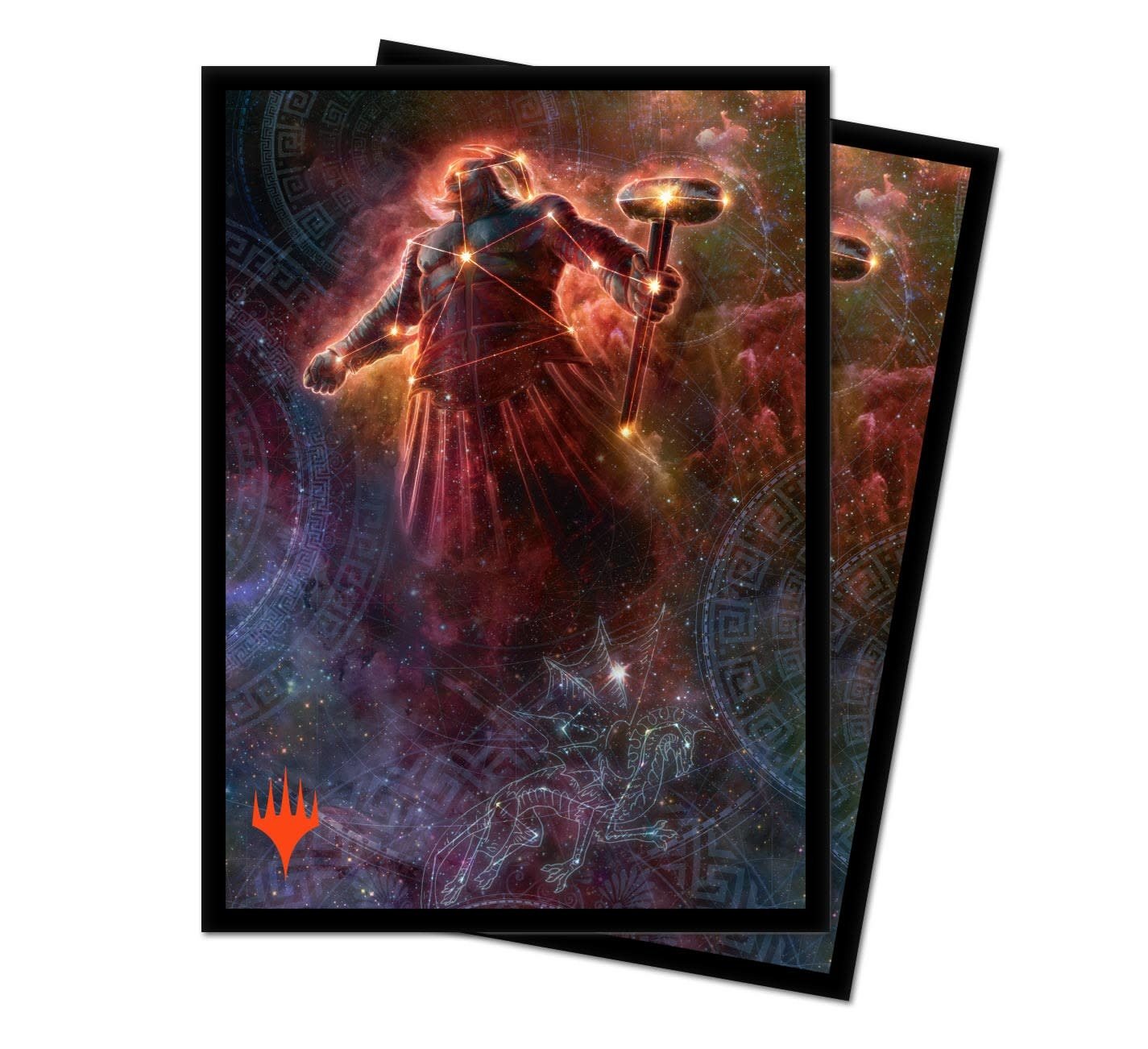 Purphoros Alt. Art - MTG Theros Beyond Death UP D-Pro Sleeves 100ct