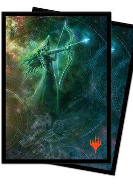 Nylea Alt. Art - MTG Theros Beyond Death UP D-Pro Sleeves 100ct