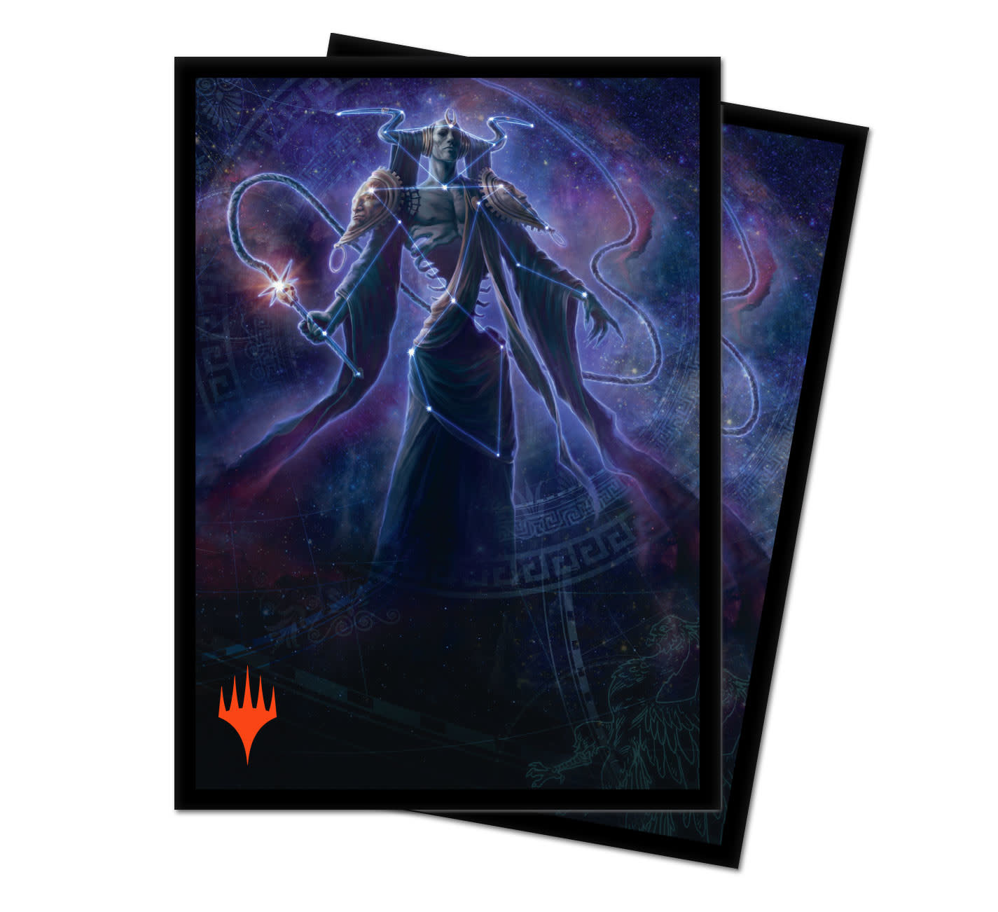 Erebos Alt. Art - MTG Theros Beyond Death UP D-Pro Sleeves 100ct