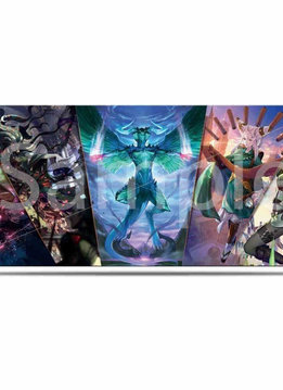 UP MTG War of the Spark Planeswalkers 6ft Table Playmat