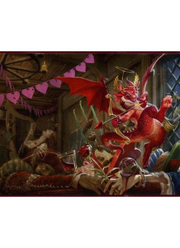 Valentine Dragon 2020 - Dragon Shield Playmat