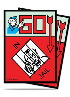 UP DP Monopoly Go to Jail 100ct