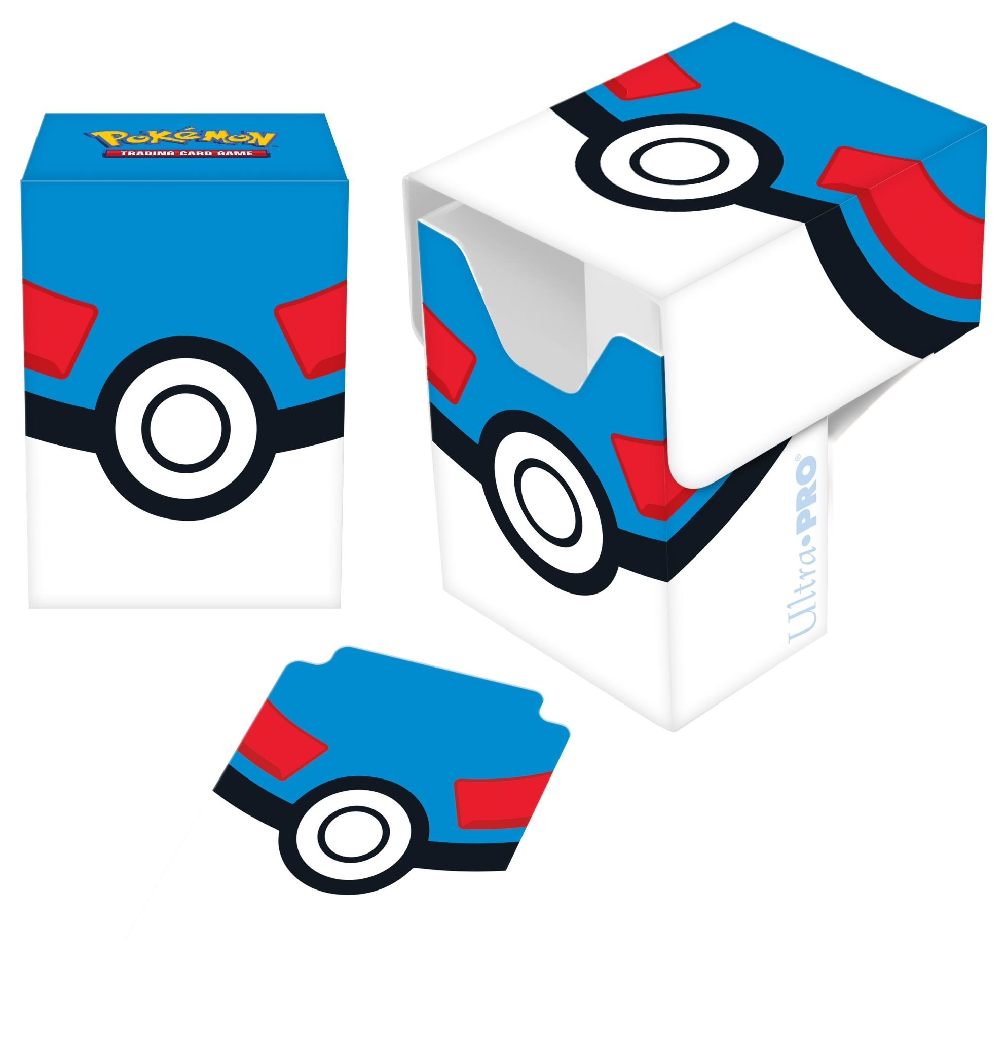 UP Pokemon Great Ball Deck Box