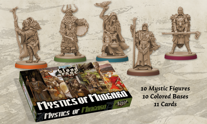 Blood Rage Digital KS - Mystics of Midgard