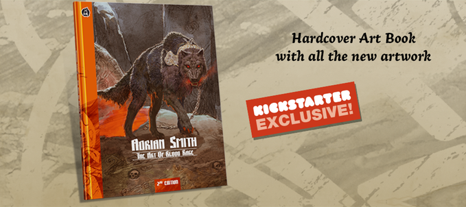 Blood Rage Digital KS - Art Book 2nd Edition