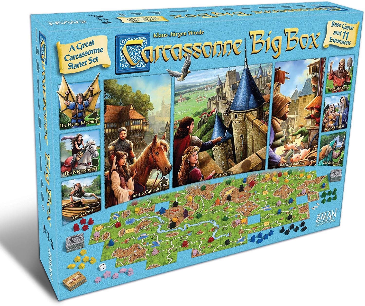 Carcassonne Big Box (FR)