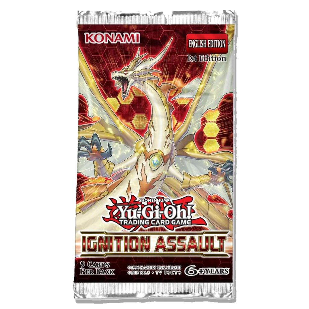 YGO Ignition Assault Booster Pack