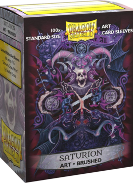 Saturion Coat of Arms Dragon Shield Sleeves Ltd. Ed. Matte Art 100ct