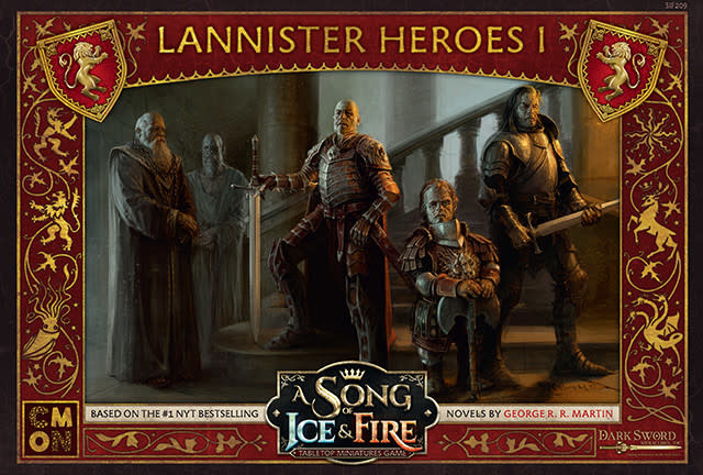 Song of Ice and Fire Lannister Heroes Box 1