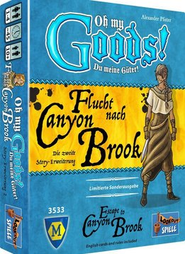 Oh My Goods!: Escape to Canyon Brooks Exp.