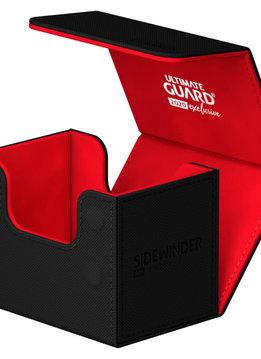 Black/Red 2020 Exclusive Sidewinder Xenoskin 80+ Deck Box