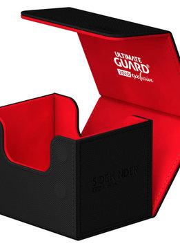 Black/Red 2020 Exclusive Sidewinder Xenoskin 100+ Deck Box