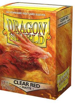 Dragon Shield Matte Clear Red