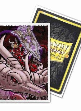 Lane Thunderhoof Portrait Dragon Shield Sleeves Ltd. Ed. Matte Art 100ct
