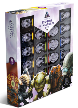 Anachrony Exosuit Miniatures Set