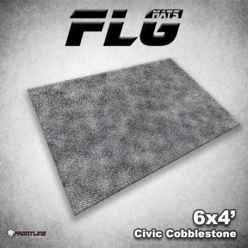 FLG Mats Civic Cobblestone 6x4