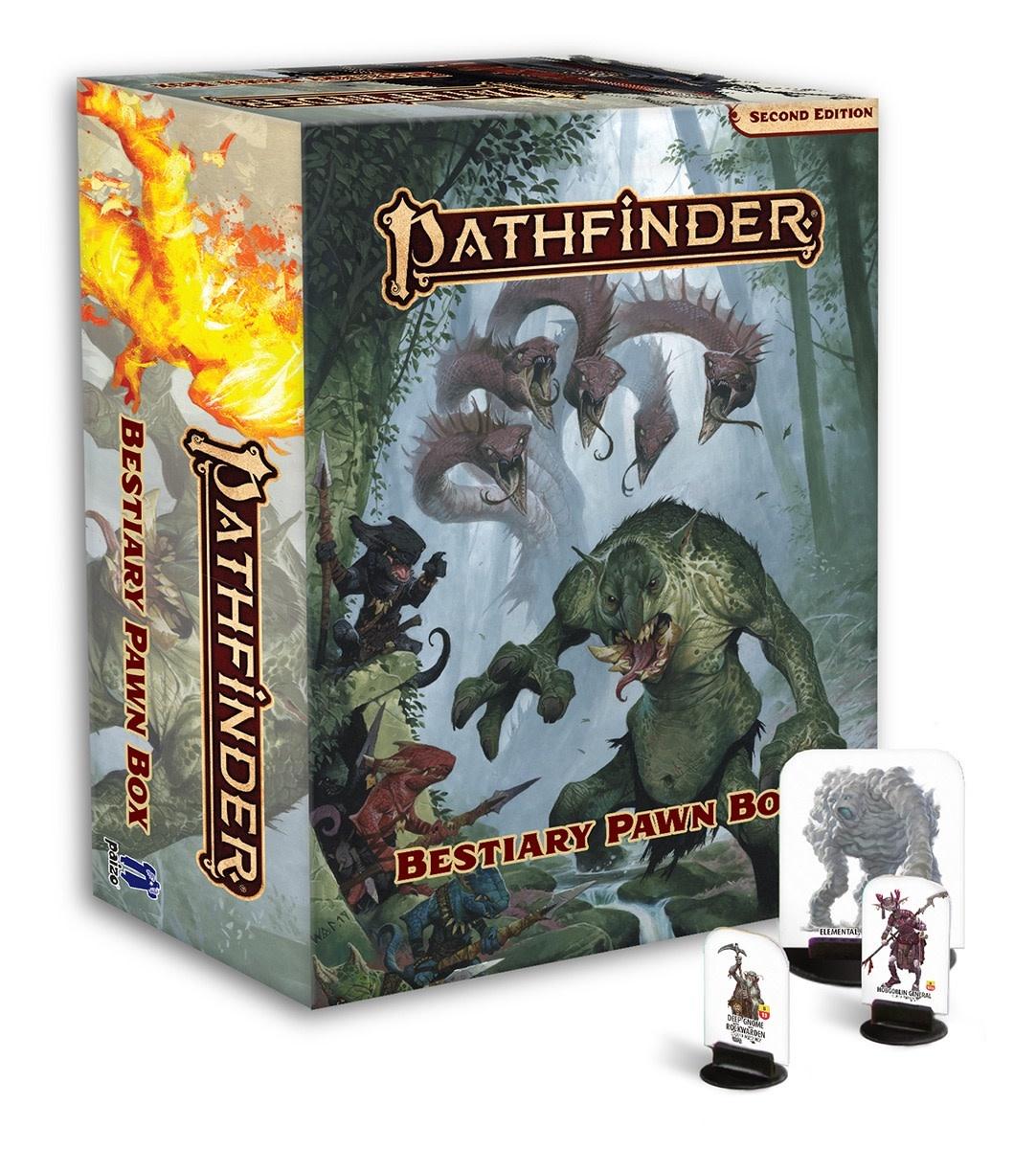 Pathfinder 2: Bestiary Pawn Box