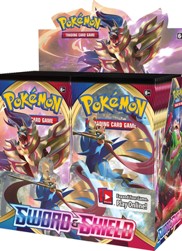 Pokemon Sword & Shield - Booster Box