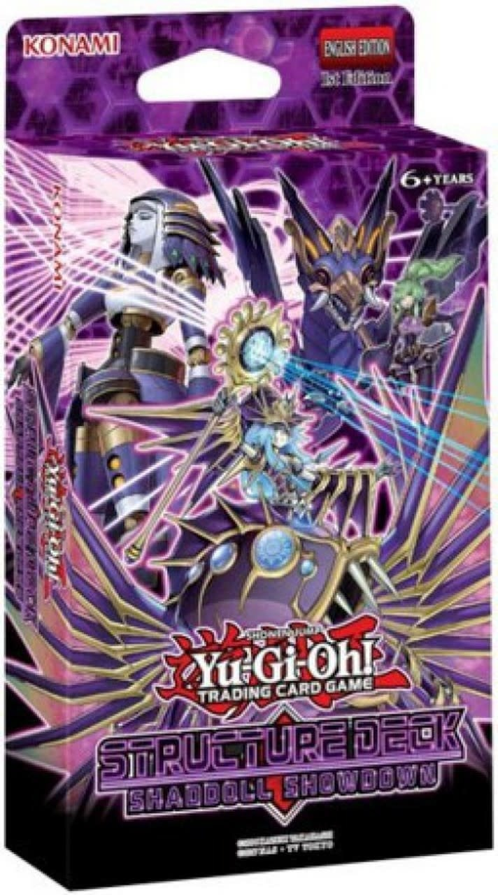 YGO Shaddoll Showdown Structure Deck
