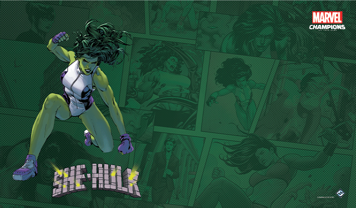 Marvel Champions - She-Hulk Game Mat