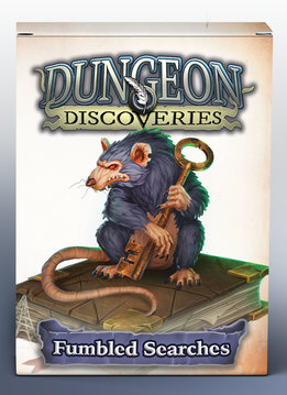 Dungeon Discoveries: Fumbled Searches Cards