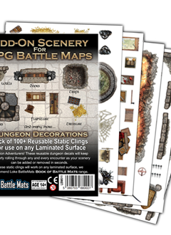 Add-On Scenery for RPG Battle Mats: Dungeon Decor