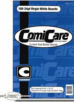 "COMICARE CURRENT AGE BOARDS 100ct 6.75""x10.5"" (1/10)"