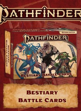 PF 2E Cards: Bestiary Battle Cards