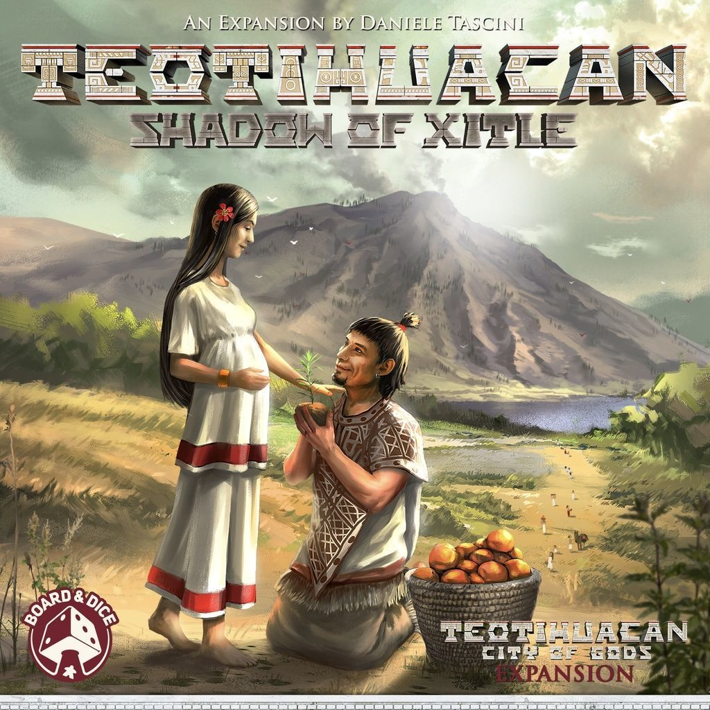 Teotihuacan: Shadow of Xitle Exp.