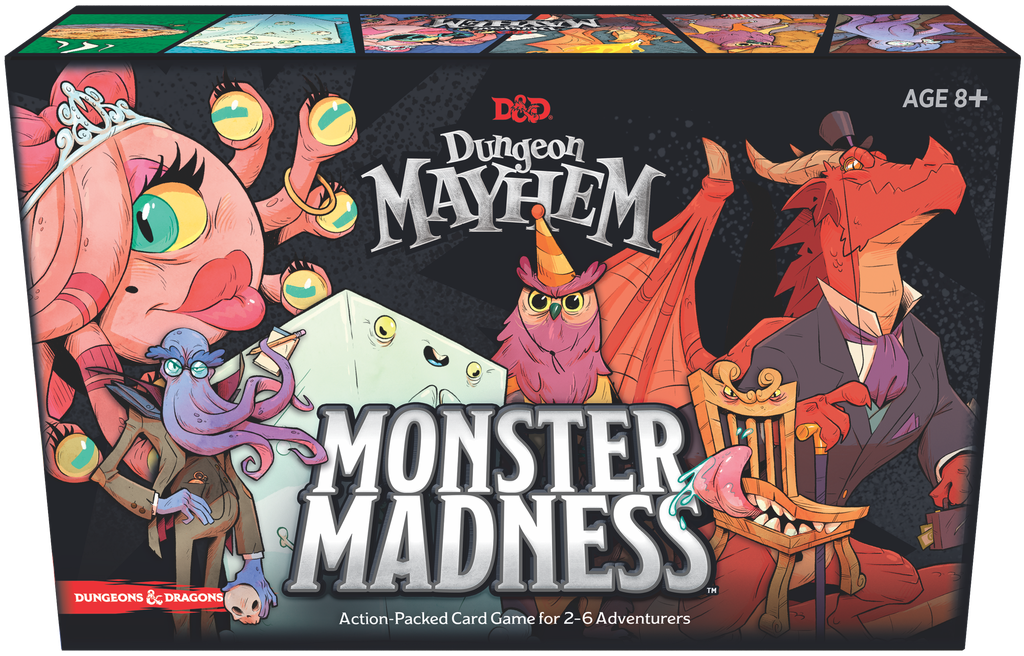 D&D Dungeon Mayhem: Monster Madness