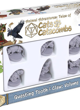 Cats & Catacombs: Questing Tooth & Claw Volume 1