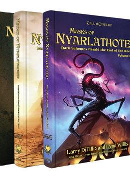 Call of Cthulhu: Masks of Nyarlathotep Slipcase Two Volume Set