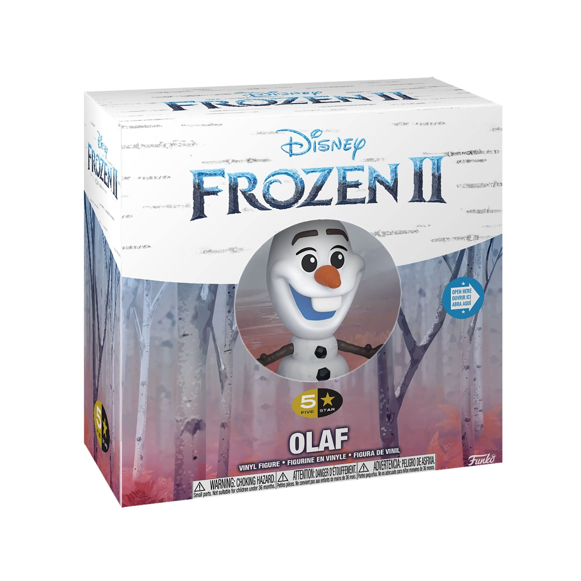 5 Star Disney Frozen 2 Olaf