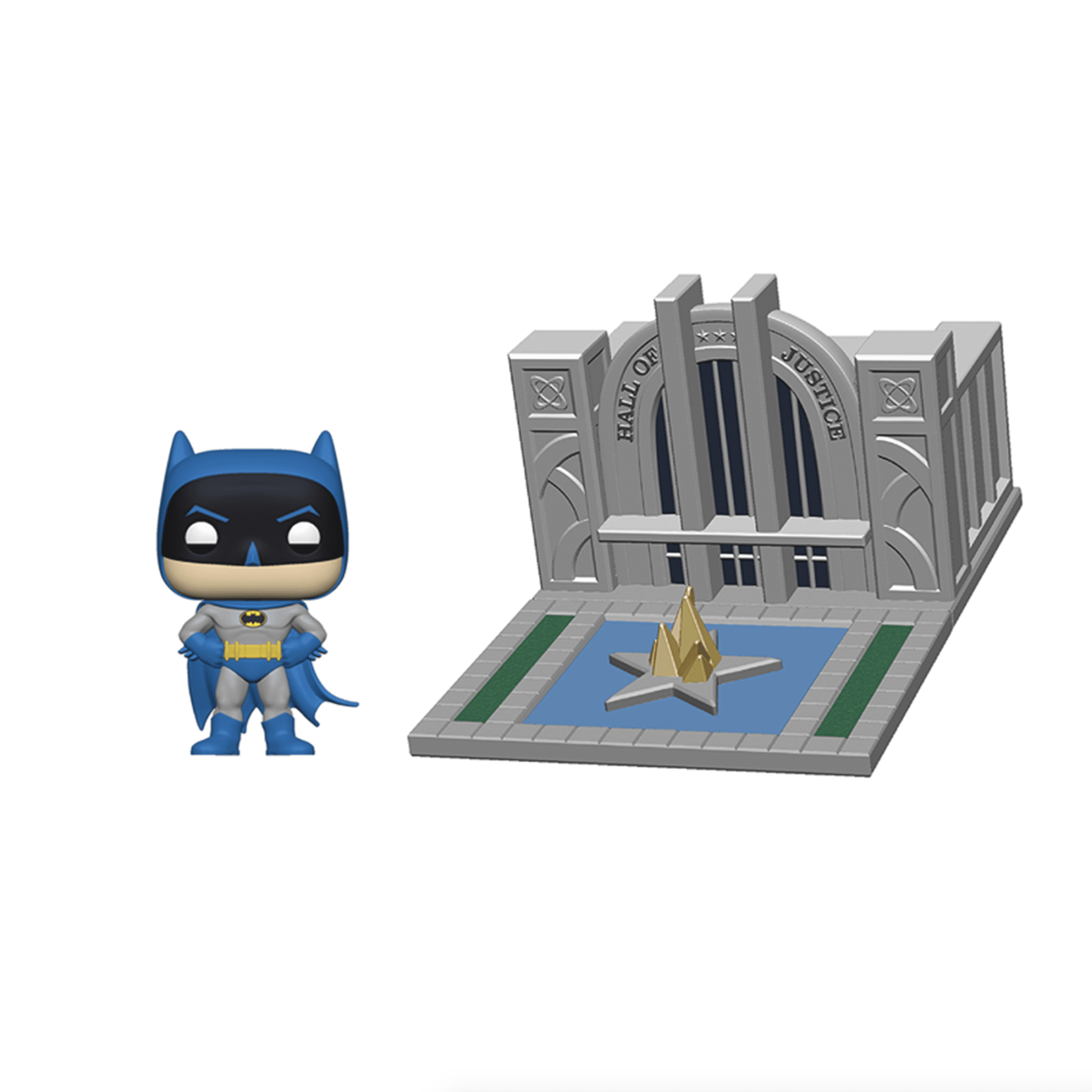 Pop! Town: Batman w/ Hall of Justice